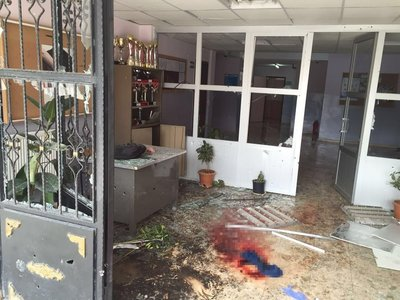 Kilis'te okula havan mermisi düştü