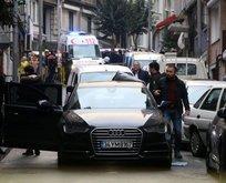 Lüks otomobildekilere silahlı saldırı