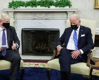 Dünya Biden'ı konuşuyor! Johnson neye uğradığı şaşırdı!
