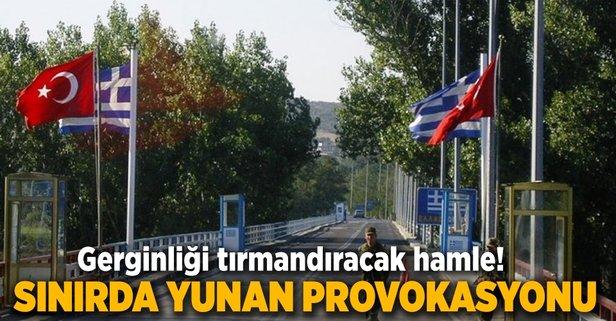 Yunanistandan ağır tahrik! Komutan sınırda...