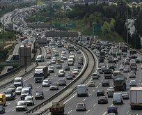 İstanbul'da tatil trafiği