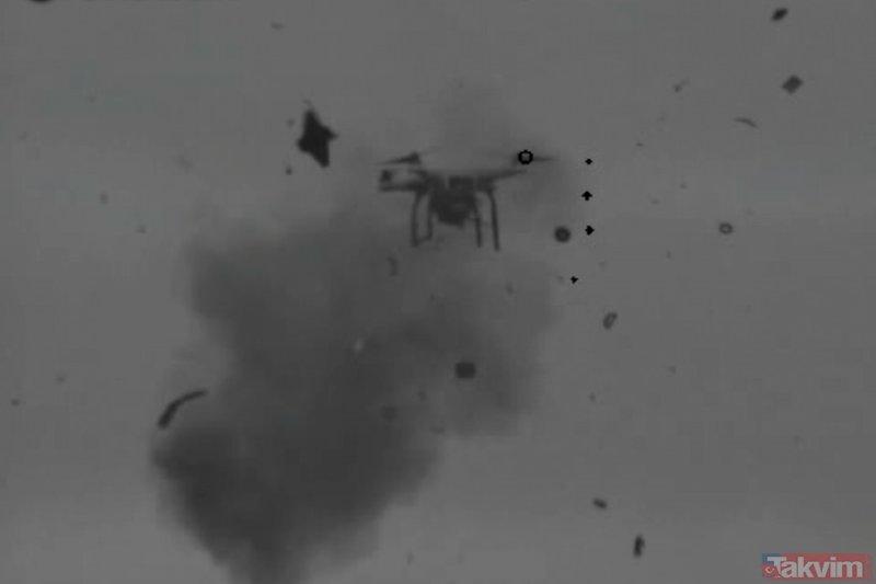 Alka 'drone'lara geçit vermiyor