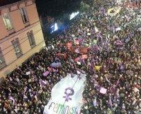 İstanbul Taksim esnafı, ezanı ıslıklayanlara büyük tepki gösterdi