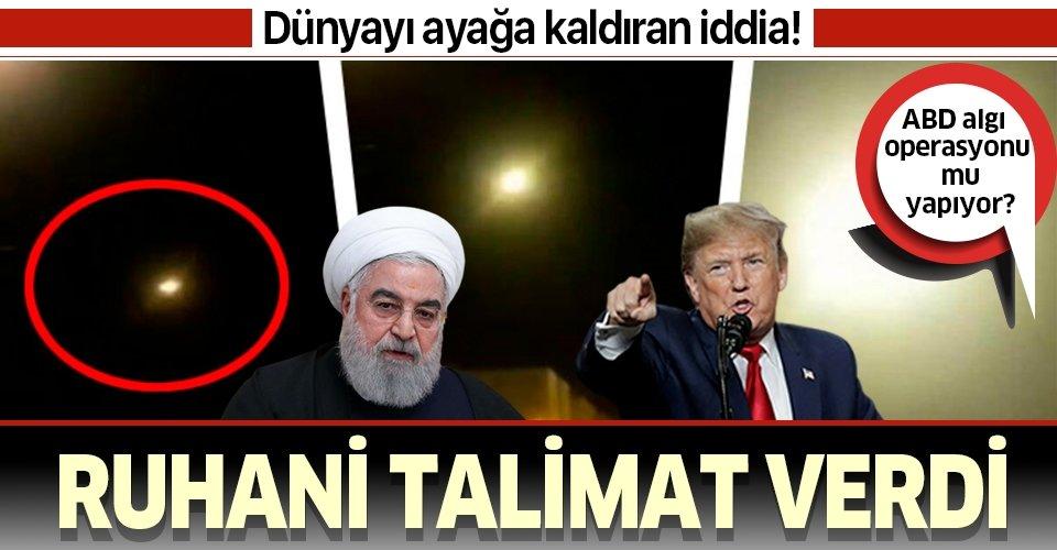 Dünya ayağa kaldıran 'füze' iddiası! Ruhani talimat verdi