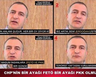 FETÖ ve PKK'dan Zillet İttifakı'na destek!