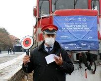İlk ihracat treni Hazar'a açılacak
