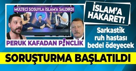 İslam'a saldıran Oğuzhan Uğur'a soruşturma