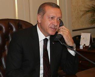 Başkan Erdoğan'dan Başakşehir'e tebrik telefonu