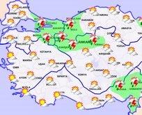 Meteoroloji'den 4 bölgede sağanak yağış uyarısı!