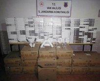 Van'da 18 bin paket kaçak sigara ele geçirildi