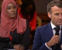 Macron'un ikiyüzlülüğü!