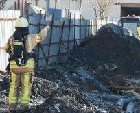 Kadıköy'de panik anları! Doğal gaz borusu patladı