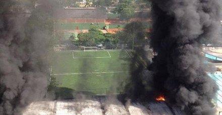Son dakika: Flamengo'nun tesislerinde çıkan yangında facia!