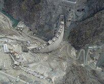 Yusufeli Barajı'nın tamamlanmasına son 40 metre!
