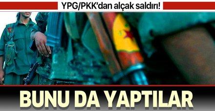 YPG/PKK Deyrizor'da sığınmacı kampını ateşe verdi