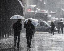 Meteorolojiden gökgürültülü sağanak uyarısı