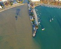 Marmara Denizi havadan böyle görüntülendi!