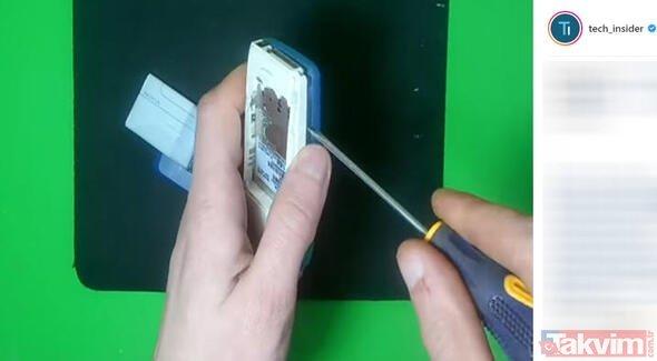 Rus mühendis eski telefonunu öyle bir şeye dönüştürdü ki... Eski telefonunuzu atmayın, sökün