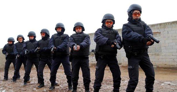 Polisliği Türkiyede öğreniyorlar
