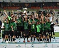 2018 Süper Kupa'nın şampiyonu Akhisarspor