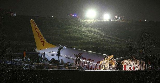 İstanbul'daki uçak kazasıyla ilgili flaş gelişme