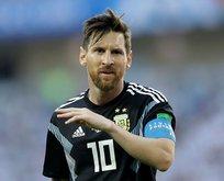 Lionel Messi'e soğuk duş büyük şok yaşadı