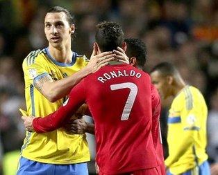 Ibrahimovic'ten Cristiano Ronaldo'ya olay sözler!