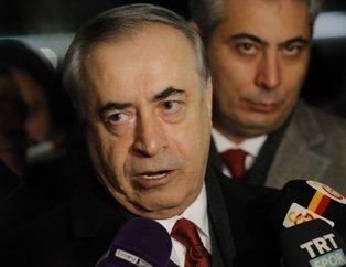 Galatasaray Başkanı Mustafa Cengiz basın toplantısı düzenledi
