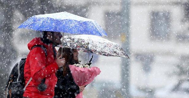 Meteoroloji'den o illerimiz için sağanak yağış uyarısı