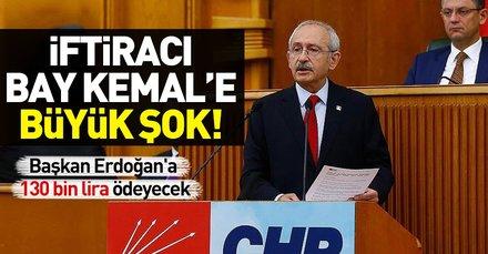 Son dakika: Kılıçdaroğlu Man Adası iddiaları nedeniyle Başkan Erdoğana tazminat ödeyecek