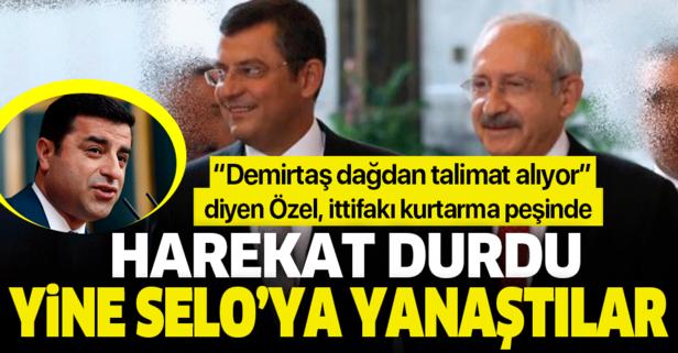 Barış Pınarı Harekatı durdu CHP yine Selo'ya yanaştı!