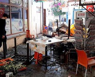 SON DAKİKA İZMİR DEPREM: 6.6'lık depremin ardından Seferihisar'da oluşan tsunami işte böyle görüntülendi!