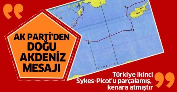 AK Parti'den Doğu Akdeniz açıklaması