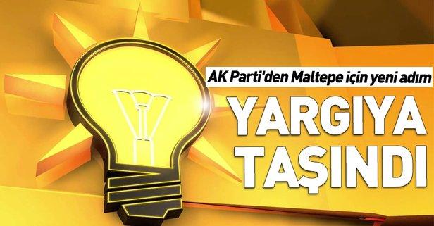 AK Parti'den Maltepe için yeni adım!