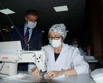 Günlük maske üretimi 3 milyona çıkarılacak