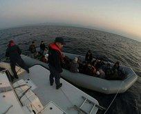 Ayvacık'ta 83 kaçak göçmen yakalandı