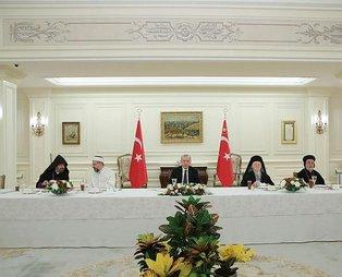 SON DAKİKA: Başkan Erdoğan'ın azınlık cemaatleriyle yaptığı iftarın detayları ortaya çıktı: En mükemmel cumhurbaşkanıdır