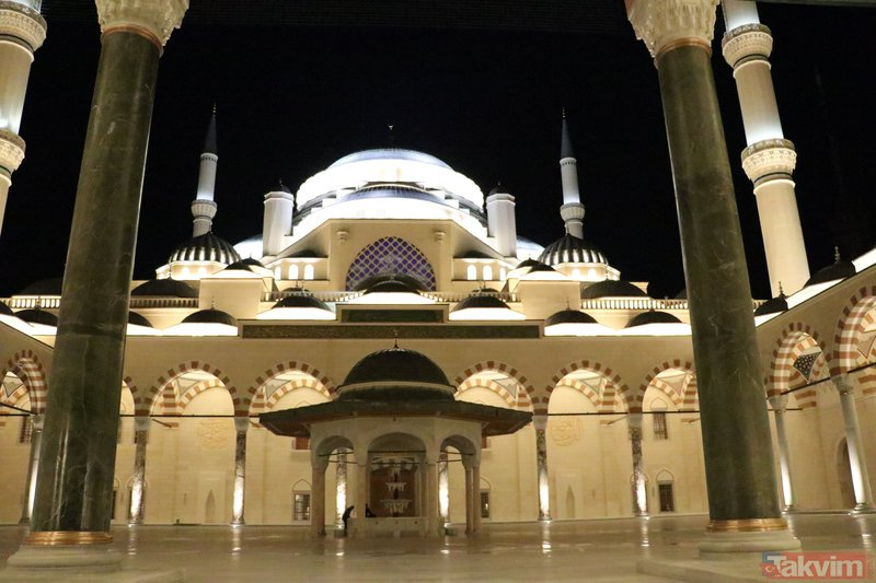 Büyük Çamlıca Camisi'nin resmi açılışı yarın yapılacak