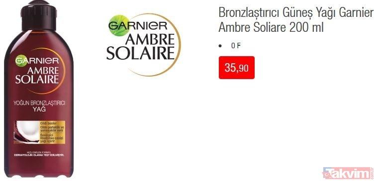 28 Mayıs BİM aktüel ürünler kataloğu: Bakım ürünleri dikkat çekiyor! Güneş kremi, bronzlaştırıcı ürünler...