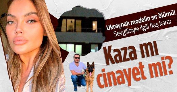 Ukraynalı model İstanbul'da öldü!
