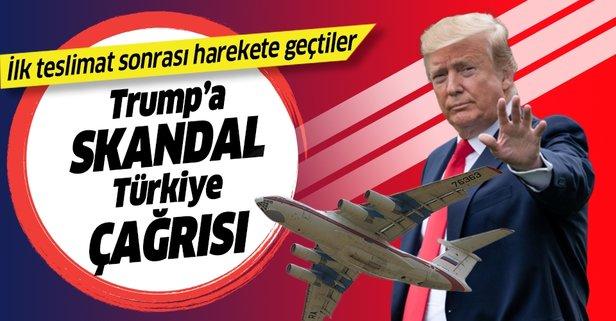 Trump'a skandal Türkiye çağrısı