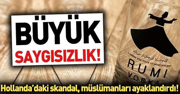 Rumi Markalı Votka şişesi Müslümanları Kızdırdı Takvim 10 Mart