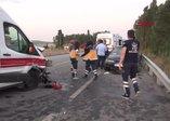 Son dakika: Ambulansında karıştığı zincirleme kazada 3 kişi öldü, 4 yaralı