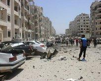 İdlibde patlama! Ölü ve yaralılar var