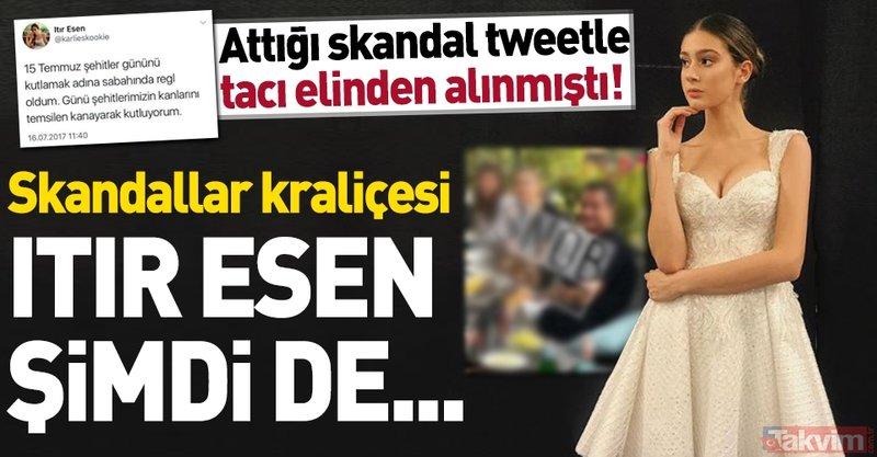 Acun Ilıcalı ile aşk yaşadığı iddia edilen Itır Esen'in skandal 15 Temmuz paylaşımı   Itır Esen kimdir?