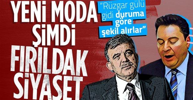 Siyasette ikinci Ali Babacan vakası!