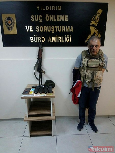 Bursa'da gelin arabasıyla soygun girişimi