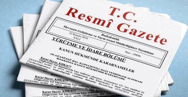 Sayıştaya üye seçimi kararı Resmi Gazete'de