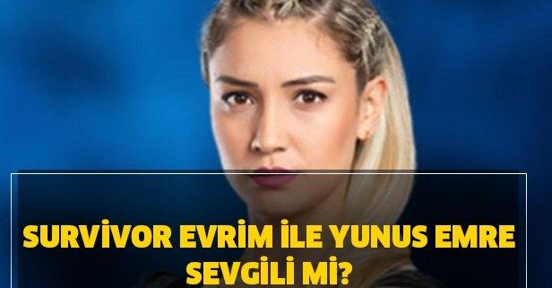 Survivor Evrim ile Yunus Emre sevgili mi?
