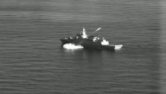 İlk milli deniz seyir füzemiz ATMACA fırlatıldı